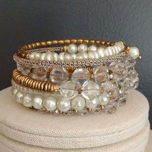 Practical Pearls wrap bracelet